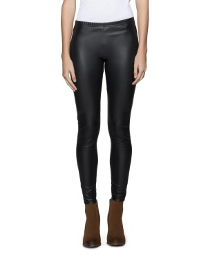 Stretch leather look leggings from Woolies