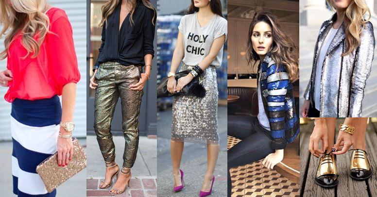 Sparkle in Sequins & Metallics