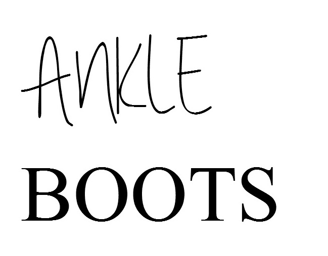 WE Ankle Boots